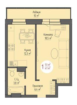 Квартира в новостойке - Фото 1
