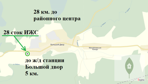 Продажа участка, Большой Двор, Бокситогорский район - Фото 1