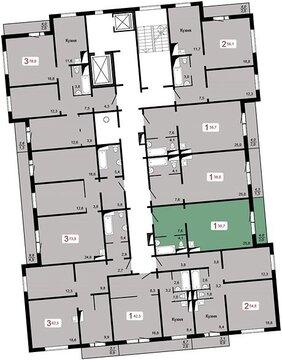 "Продам 1-комн. квартиру 37,7 кв.м. ЖК ""Николаевский"" д.1.1 1750 т.р. - Фото 2"