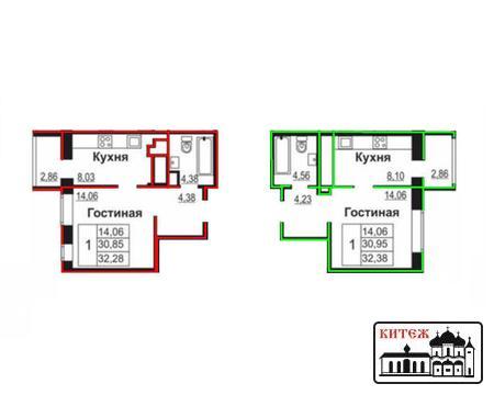 Продажа 1-комн. квартир в новостройке Марс на Терепце - Фото 4