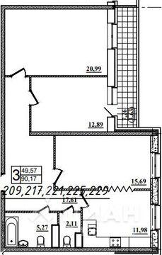 Продаю3комнатнуюквартиру, Назрань, Московская улица, 28, Купить квартиру в Назрани по недорогой цене, ID объекта - 323071439 - Фото 1