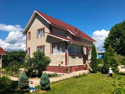 Продажа двух домов на участке 12 соток, Новая Деревня - Фото 1