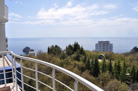 2-комнатная квартира в Гурзуфе с видом на море - Фото 1