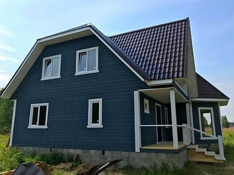 Дом 190 м2, ИЖС, 15 соток, д. Марёнкино - Фото 1