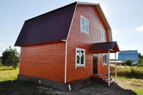 Продаю новый дачный дом 100 кв.м. на участке 13 соток деревня Финеево - Фото 1