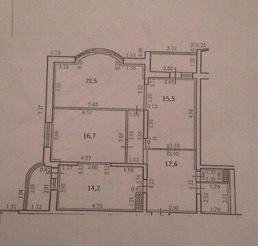 Видовая Трехкомнатная Квартира в Новом Доме с Ремонтом и Мебелью. - Фото 3