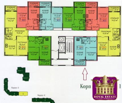 Продается квартира Респ Крым, г Симферополь, Евпаторийское шоссе, д 1 - Фото 2