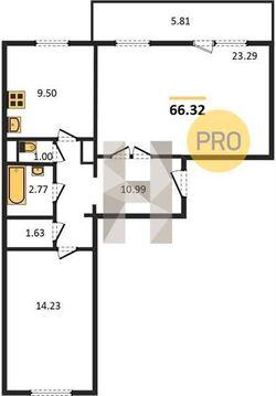 Продажа квартиры, Пенза, Ул. Тепличная, Купить квартиру в Пензе по недорогой цене, ID объекта - 322557770 - Фото 1