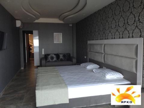 Квартира с видом на море в Ялте 32.6м2 ремонт и мебель люкс - Фото 3
