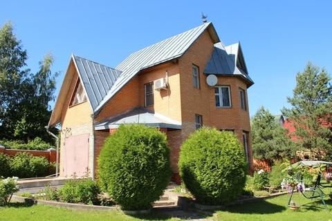 Продаю дом, земельный участок 13 соток в д. Скулино на первой линии от - Фото 2