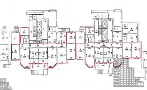 Помещение в жилом доме на 1 этаже, лифт, 3 км от МКАД - Фото 5