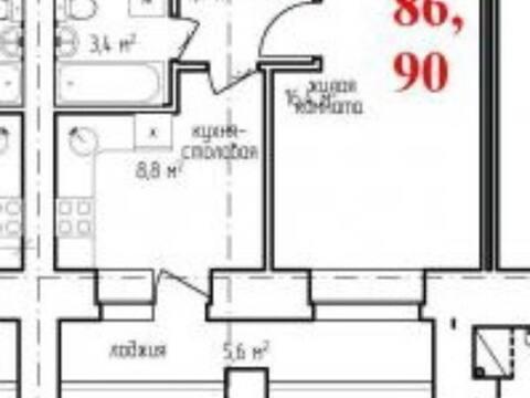Продажа однокомнатной квартиры в новостройке на Новой улице, 4 в ., Купить квартиру в Благовещенске по недорогой цене, ID объекта - 320174024 - Фото 1