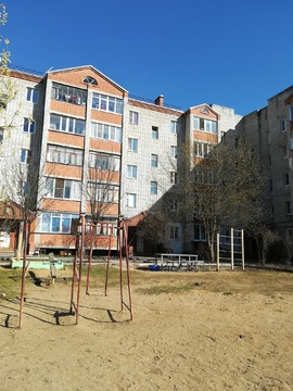 Трехкомнатная квартира в Балакирево, Юго-Западный кв-л, д.6 - Фото 1