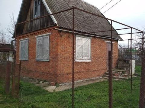 Продаётся кирпичная дача на садоводческом товариществе Северского райо - Фото 1
