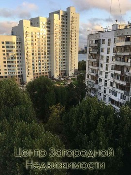 Двухкомнатная Квартира Москва, набережная Нагатинская, д.60, корп.2, . - Фото 5