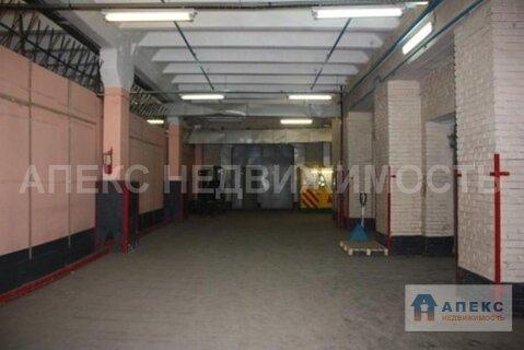 Аренда помещения пл. 650 м2 под склад, м. Авиамоторная в складском . - Фото 4