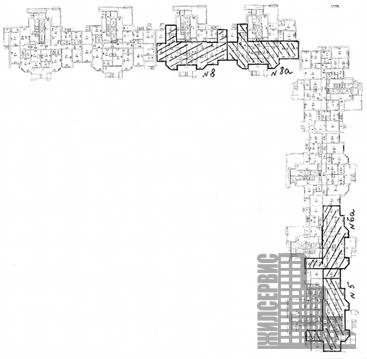 Псн 179,2м в жилом 25-этажном доме Борисовка ул, Мытищи, трц Июнь - Фото 2