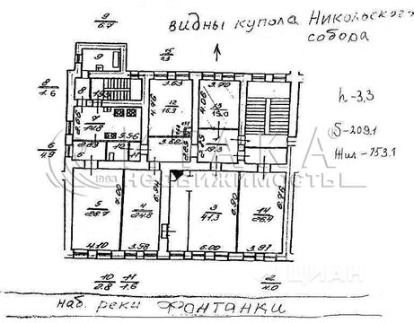 Продажа комнаты, м. Сенная площадь, Реки Фонтанки наб. - Фото 1