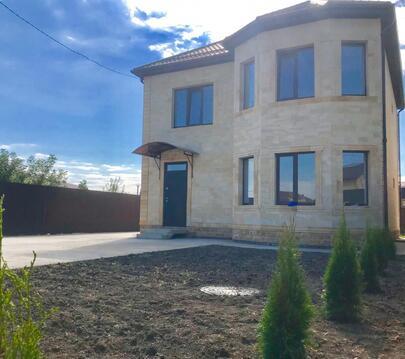 Готовый дом 140 м2.4 сот.Из дагестанского камня - Фото 1