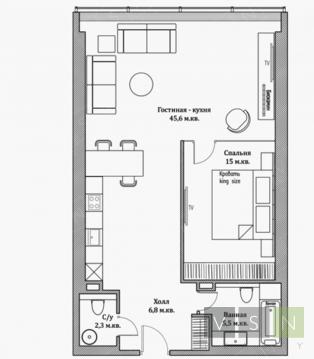 Продается квартира г.Москва, 2-я Брестская, Купить квартиру в Москве по недорогой цене, ID объекта - 320733923 - Фото 1