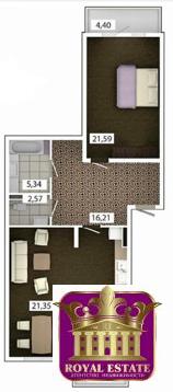 Продам 2 комнатную квартиру 85 м2 в ЖК «Castle Houses». - Фото 1