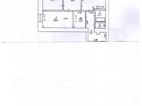 Продажа трехкомнатной квартиры на улице Лепсе, 6а в Кирове, Купить квартиру в Кирове по недорогой цене, ID объекта - 319841255 - Фото 1