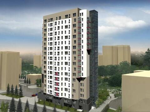 Продажа однокомнатные апартаменты 24.97м2 в Апарт-отель Юмашева 6 - Фото 3