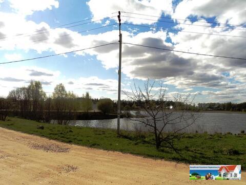 Участок 25 соток на берегу озера, д. Константиново, 98 км от МКАД. - Фото 4