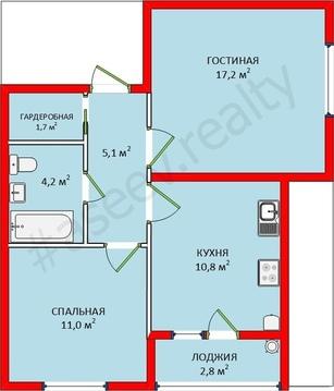 2-х комнатная квартира в Ставрополе - Фото 2