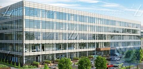 Сдам офис 110 кв.м, бизнес-центр класса B+ «БЦ Симонов Плаза» - Фото 2
