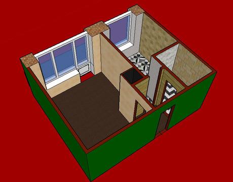 1 (одна) комнатная квартира в Центральном (Заводском) районе города. - Фото 3