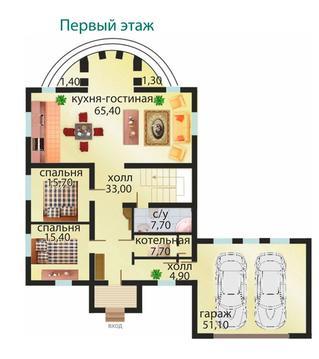Продажа дома 414 м2 в коттеджном поселке кп Николин Ключ с. Кашино - Фото 5