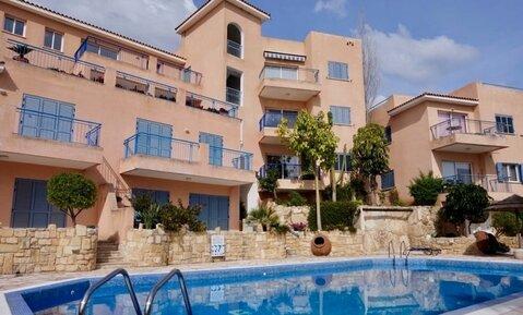 Трехкомнатный Апартамент с панорамным видом на море в районе Пафоса - Фото 1