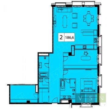 Продается квартира г.Москва, Большая Якиманка, Купить квартиру в Москве по недорогой цене, ID объекта - 321895256 - Фото 1