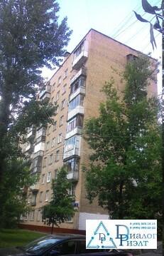 Продается 2-комн квартира в 7 минутах ходьбы от метро Волжская гмосква - Фото 1
