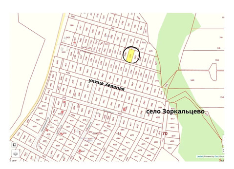 Объявление №63469265: Продажа участка. Зоркальцево