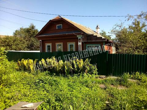 Дом бревенчатый, на участке 5 сот. - Фото 1
