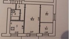 Продается 2-комнатная квартира 41.1 кв.м. на ул. Луначарского - Фото 2