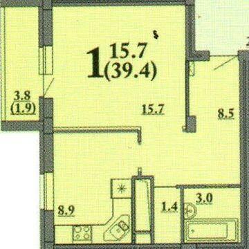 Продажа квартиры, Пенза, Ул. Ладожская, Купить квартиру в Пензе по недорогой цене, ID объекта - 322052790 - Фото 1