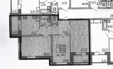 Продается квартира Москва, п. Новофедоровское, ул Десятинная, д 11 - Фото 5