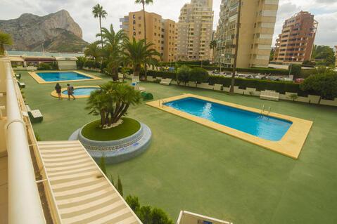 Сдаются апартаменты с видом на море в Кальпе, Испания. - Фото 2
