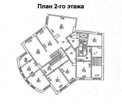 Псн 244 м2 в ЦАО на Новослободской ул.11 - Фото 3