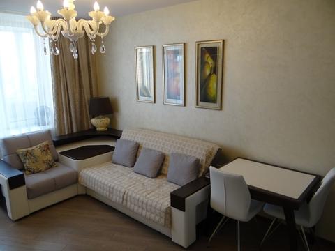 1-комнатная квартира с ремонтом ибытовой техникой в Долгопрудном - Фото 2