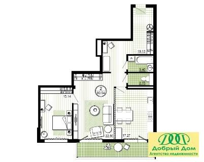 Продам 2-к квартиру в Манхэттене - Фото 3