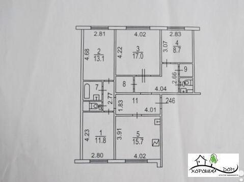 Продается 4-к квартира в центре г. Зеленоград корпус 247 - Фото 2
