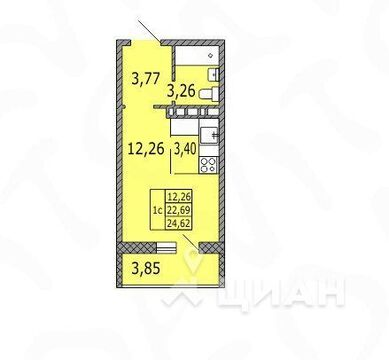 Продажа квартиры, Оренбург, Улица Поляничко - Фото 2