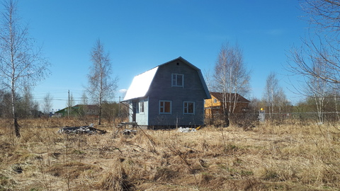 Дом 62кв.м. с участком 17соток, на окраине п.Заокский, рядом с ж/д ст. - Фото 4