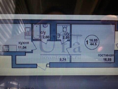 Продажа однокомнатной квартиры на Интернациональной улице, 19 в Уфе, Купить квартиру в Уфе по недорогой цене, ID объекта - 320177524 - Фото 1