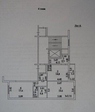 Купить Двухкомнатную Квартиру перестроенную в трехкомнатную. Узаконено - Фото 3