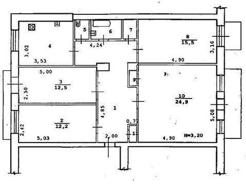 Продам многокомнатную квартиру, Мира ул, 20, Волгоград г - Фото 1